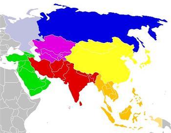 Stumme Karte Asien Lander Hauptstadte.Hauptstadte In Asien